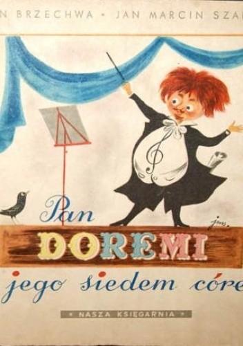 Okładka książki Pan Doremi i jego siedem córek