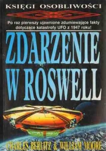 Okładka książki Zdarzenie w Roswell