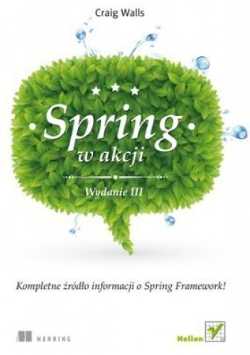 Okładka książki Spring w Akcji. Wydanie III