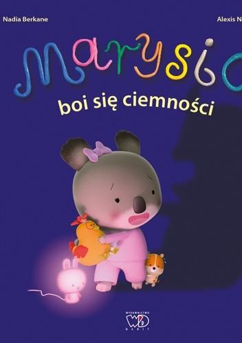 Okładka książki Marysia boi się ciemności