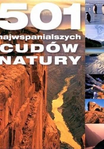 Okładka książki 501 najwspanialszych cudów natury