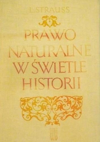 Okładka książki Prawo naturalne w świetle historii