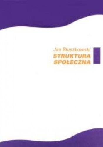 Okładka książki Struktura społeczna