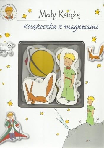 Okładka książki Mały Książę. Książeczka z magnesami