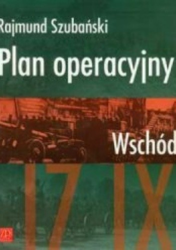 Okładka książki Plan operacyjny Wschód