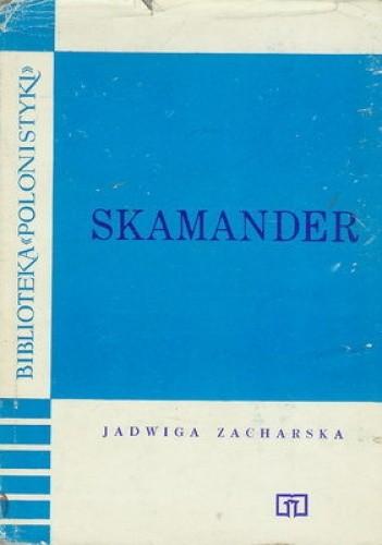 Okładka książki Skamander