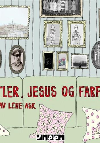 Okładka książki Hitler, Jesus og farfar