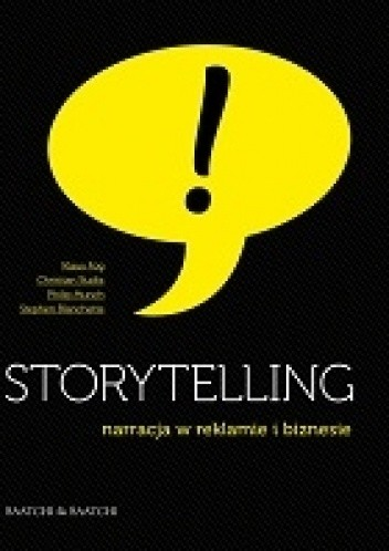 Okładka książki Storytelling – narracja w reklamie i biznesie