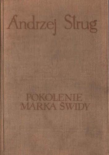 Okładka książki Pokolenie Marka Świdy