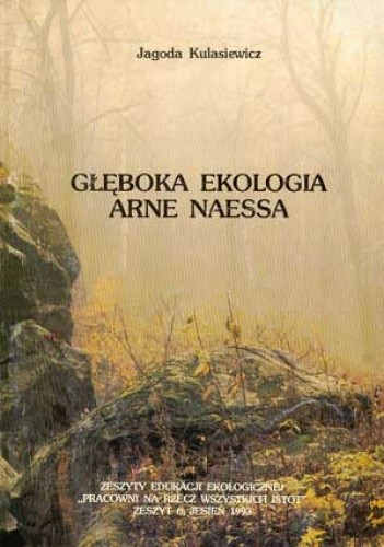 Okładka książki Głęboka ekologia Arne Naessa