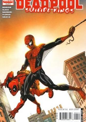 Okładka książki Deadpool: Suicide Kings #4