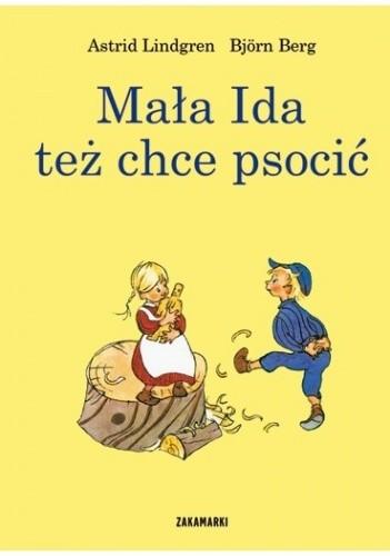 Okładka książki Mała Ida też chce psocić