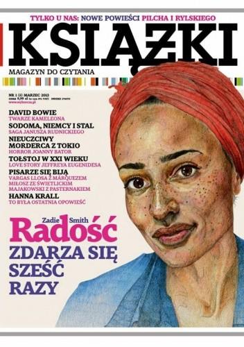 Okładka książki Książki. Magazyn do czytania, nr 1 (8) / marzec 2013