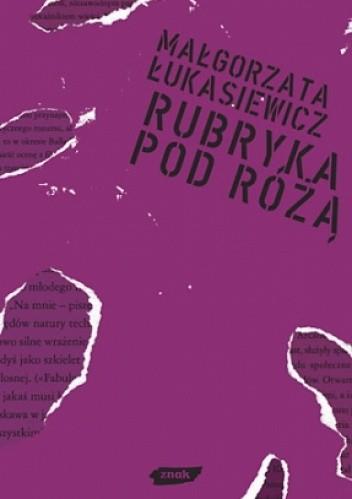 Okładka książki Rubryka pod różą
