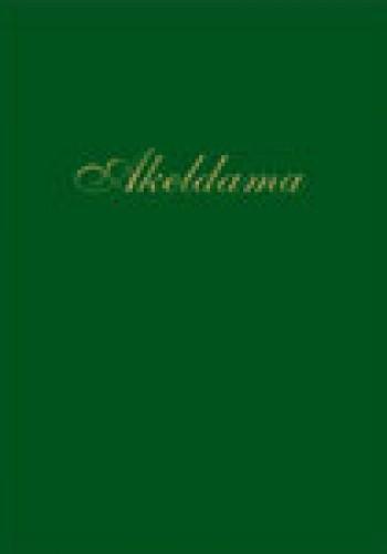 Okładka książki Akeldama: miejsce, gdzie grzebie się obcych