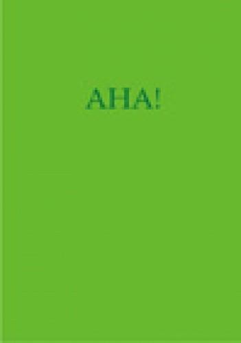 Okładka książki AHA!