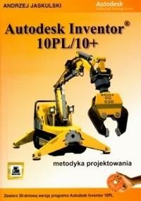 Okładka książki Andrzej Jaskulski. Autodesk inventor 10pl/10+. Metodyka projektowania. 3 CD.
