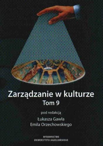Okładka książki zarządzanie w kulturze tom 9