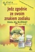 Okładka książki Dieta dla Bliźniąt. Jedz zgodnie ze swoim znakiem zodiaku.