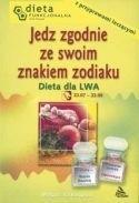 Okładka książki Dieta dla Lwa. Jedz zgodnie ze znakiem zodiaku.