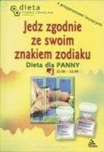 Okładka książki Dieta dla Panny. Jedz zgodnie ze swoim znakiemzodiaku.