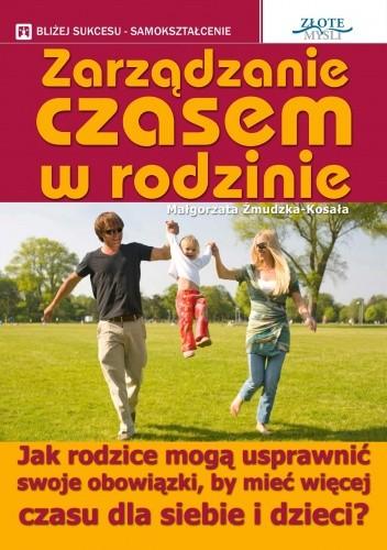Okładka książki zarządzanie czasem w rodzinie - e-book