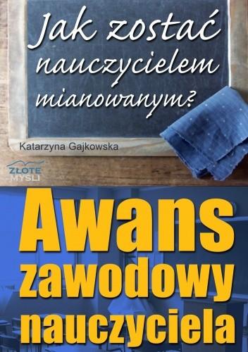 Okładka książki Awans zawodowy nauczyciela - e-book