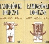 Okładka książki Łamigłówki logiczne. Tom 1-2