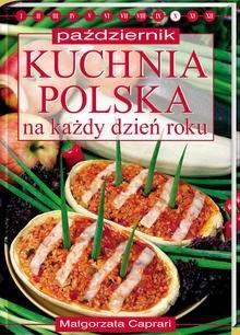 Okładka książki Kuchnia polska na każdy dzień roku - październik