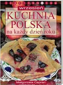 Okładka książki Kuchnia polska na każdy dzień roku - wrzesień
