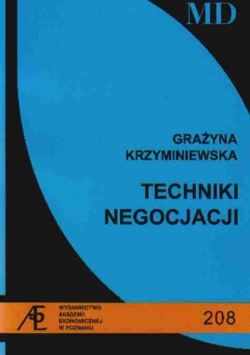 Okładka książki Techniki negocjacji