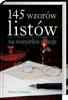 Okładka książki 145 wzorów listów na wszystkie okazje