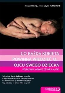 Okładka książki Co każda kobieta powinna wiedzieć o ojcu swego dziecka. Poradnik nowoczesnej matki