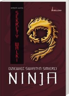 Okładka książki Dziewięć świątyń śmierci Ninja. Sekrety walki