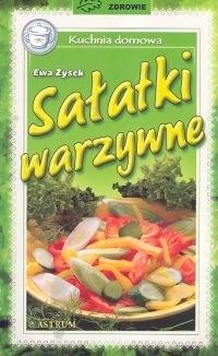 Okładka książki Sałatki warzywne