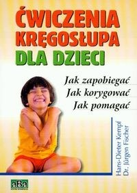 Okładka książki ćwiczenia kręgosłupa dla dzieci