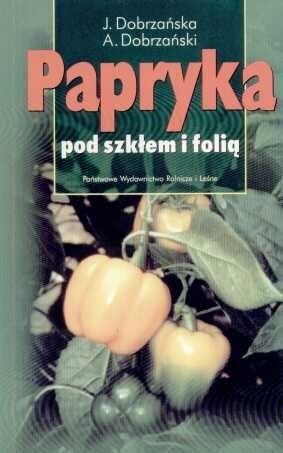 Okładka książki Papryka pod szkłem i folią