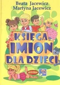 Okładka książki Księga imion dla dzieci