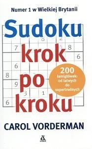Okładka książki Sudoku krok po kroku