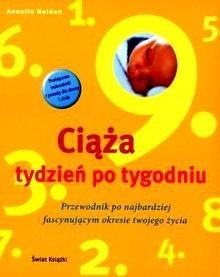 Okładka książki Ciąża tydzień po tygodniu