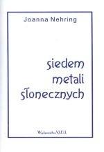 Okładka książki Siedem metali słonecznych