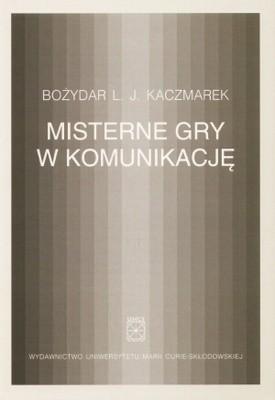 Okładka książki Misterne gry w komunikację