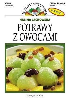 Okładka książki Potrawy z owocami