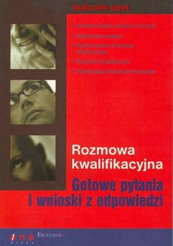 Okładka książki Rozmowa kwalifikacyjna. Gotowe pytania i wnioski z odpowiedzi