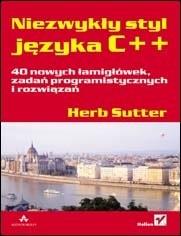 Okładka książki Niezwykły styl języka C++. 40 nowych łamigłówek, zadań programistycznych i rozwiązań
