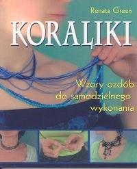 Okładka książki Koraliki. Wzory ozdób do samodzielnego wykonania