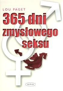Okładka książki 365 dni zmysłowego seksu