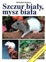 Okładka książki Szczur biały, mysz biała. Poradnik chowu