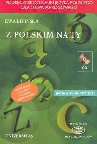 Okładka książki z polskim na Ty