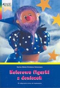 Okładka książki Kolorowe figurki z doniczek